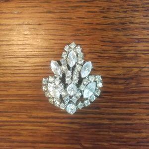 Jewelry - FINAL PRICE Vintage Rhinestone Brooch